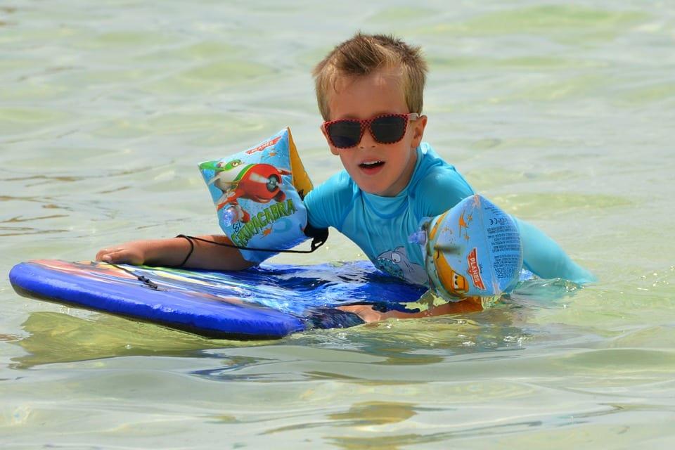 5 podstawowych umiejętności dla nauki pływania